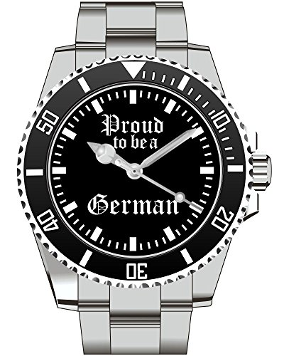Deutschland Reichsadler Deutsches Reich Stolz Bundeswehr Vaterland Geschenk Fan Artikel Zubehör Fanartikel Uhr 2157