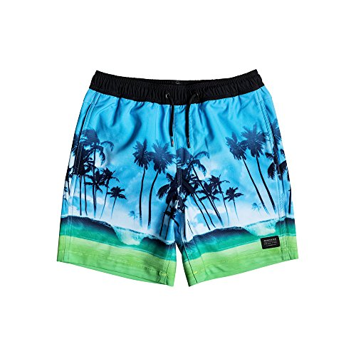 Quiksilver Board Shorts - Quiksilver Waves Yout... (Panel Badehose Side)