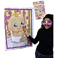 Alandra DUM Shower Pin the Dummy on the Baby Game