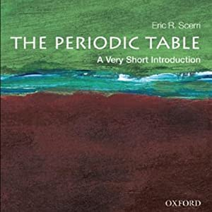 Periodic table a very short introduction audio download amazon periodic table a very short introduction audio download amazon eric scerri audible studios books urtaz Image collections