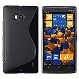 Mumbi S-TPU - Funda para Nokia Lumia 930, Negro