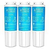 AQUACREST UKF8001 Filtre à Eau pour Réfrigérateur, Compatible avec Maytag UKF8001 UKF8001AXX UKF8001P UKF9001 PuriClean II Whirlpool 4396395 469006 Kenmore 46-9006 (3)