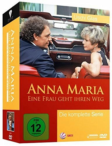 Anna Maria - Eine Frau geht ihren Weg, Die komplette Serie (9 Discs)