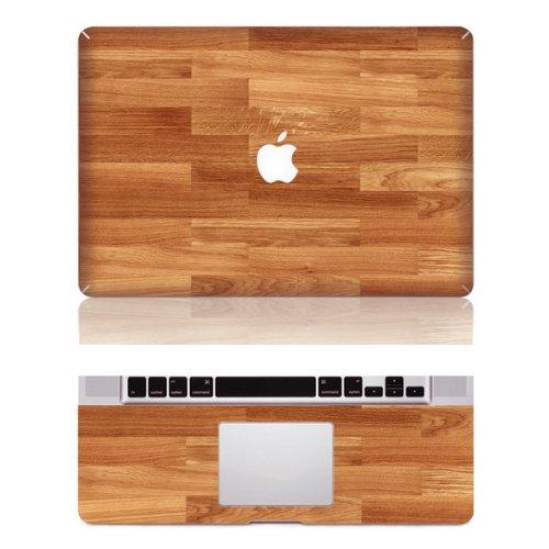 """Preisvergleich Produktbild decalshut Holz Muster Aufkleber Abnehmbare Schützende Haut Aufkleber für Apple Macbook Aufkleber, wood 5, MacBook Pro 13.3"""" inch (A1278)"""