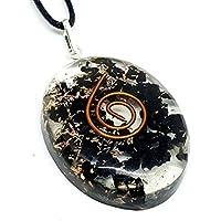 Orgon mit Kristall schwarzer Turmalin Schörl Reiki schützendes Halskette Anhänger preisvergleich bei billige-tabletten.eu