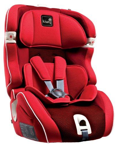 Kiwy 13103KW01B Kinderautositz SL123 Gruppe 1/2/3 Universal 9/36KG Cherry rot ECE R44/04 (Cherry 04)