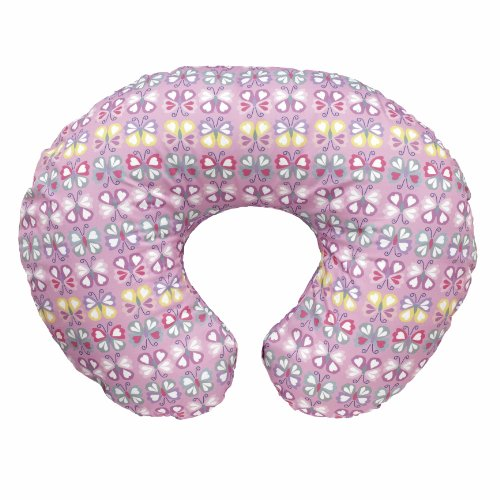 chicco-boppy-feeding-and-nursing-pillow-with-cotton-slip-cover-butterfly-collector