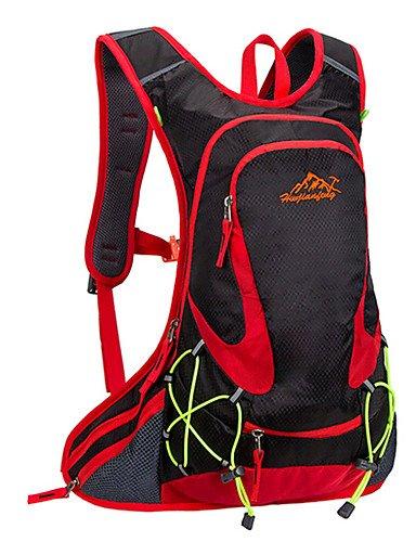 ZQ n/a L Rucksack Legere Sport / Reisen / Laufen Draußen / Leistung Wasserdicht / Multifunktions andere Nylon N/A Black