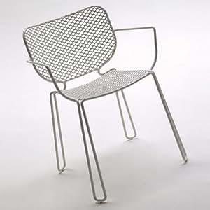 emu Ivy - Chaise avec accoudoirs, blanc