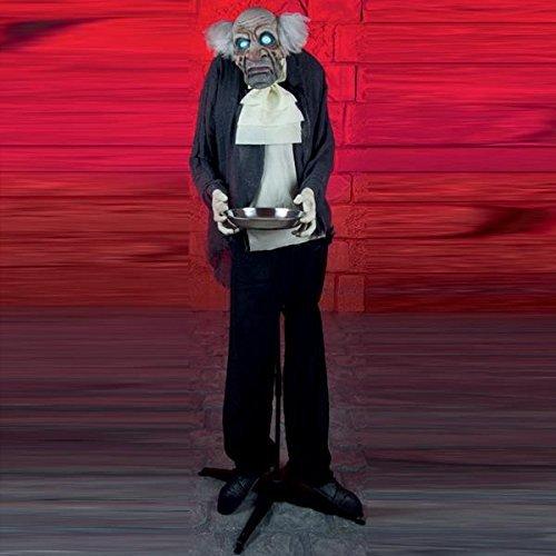 Creepy animiert Halloween Butler mit Blink - Halloween Butler Animiert
