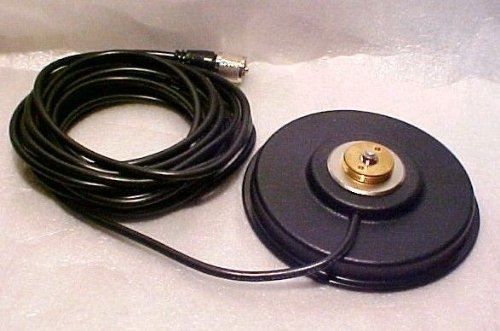 Workman Workman PM5-NMO CB Radio Antenna Magnet Mount with PL-259 Plug & 16` Foot Coax