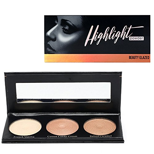 OYOTRIC 3 In 1 Palette de Surligneur Contour Mineral Shimmer Eyeshadow Palette