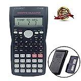 KOBWA Calculadora científica avanzada, calculadora científica multifunción, ideal para ingeniería, contabilidad, calculadora, trigonometría