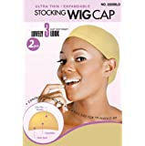WIG CAP 2PCS NATURAL BEIGE ONE SIZE FITS ALL