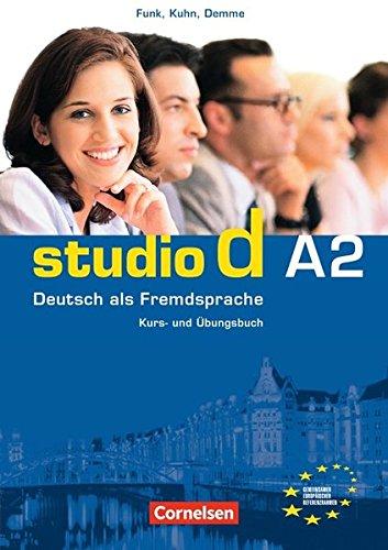 studio d A2: Kurs- und Übungsbuch: Deutsch Als Fremdsprache: Kurs- Und Ubungsbuch Teilband 1