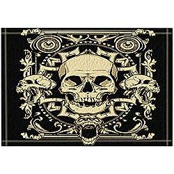GzHQ Terror alfombras de baño antideslizante 15.7x23.6 pulgadas