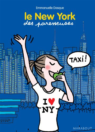 MINI GUIDE NEW YORK DES PARESSEUSES par Emmanuelle Dasque