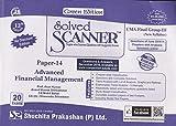 #8: Shuchita Prakashan's Solved Scanner CMA Final Group III (Old Syllabus) Paper 14 Advanced Financial Management Green Edition