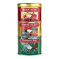 The Republic Of Tea Holiday Stackable Tea, 36 Tea Bags, Holiday Tea Collection
