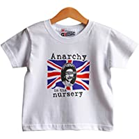 dbe1617f Kids Punk t-shirt Anarchy In The Nursery 1-2 years
