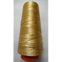 Hilo de viscosa rayón seda, más de 40colores, más de 250m, para bordado, ganchillo, punto y joyería