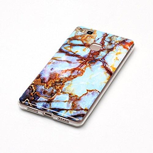 Coque iPhone 5/5S/SE XiaoXiMi Etui en Marbre Texture Housse de Protection Soft TPU Silicone Case Cover Coque Flexible Lisse Etui Ultra Mince Poids Léger Housse Anti Rayure Anti Choc pour iPhone 5/5S/S Motif de Rouille
