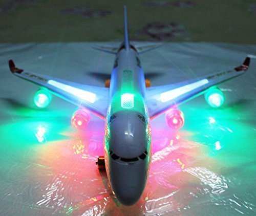 Gifts Online Detachable Blocks 747 Aeroplane With Lights + Sound + Can Be Assembled As Blocks