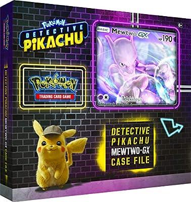Pokémon - POK80617 TCG : Detective Pikachu Mewtwo-GX - Mallette - Couleurs mélangées