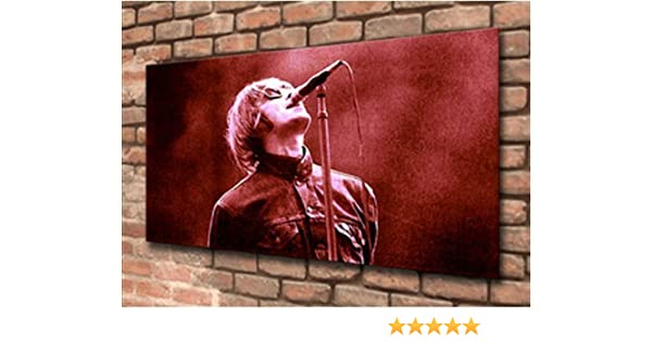 NOEL GALLAGHER Stylish Framed Wall Art -Choose Size OASIS PRINT ON CANVAS