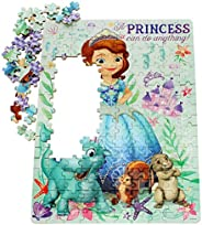 Jigsaw Wooden Puzzles- Puzzle, 200 pieces, 3-4-5-6 year old girl princess educational toy Big gift for boys an