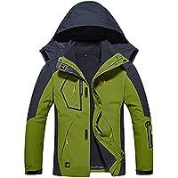 HAINES Chaqueta 3 en 1 Mujer Hombre Impermeable Chaquetas Softshell de Montaña Al Aire Libre Abrigo de Esquí