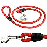 Me & My Pets Laisse en corde robuste pour chien Rouge 1,5m