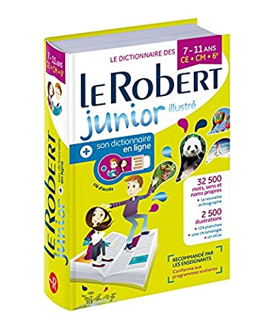 Dictionnaire Le Robert Junior illustré et son dictionnaire en ligne