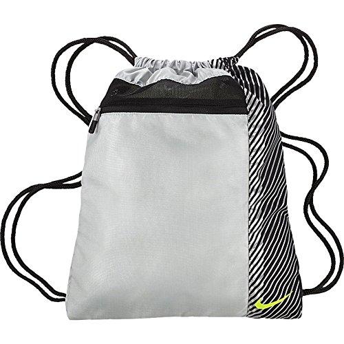 Nike sac de sport-iI sac pour chaussures Divers Multicolore - Silver/Volt