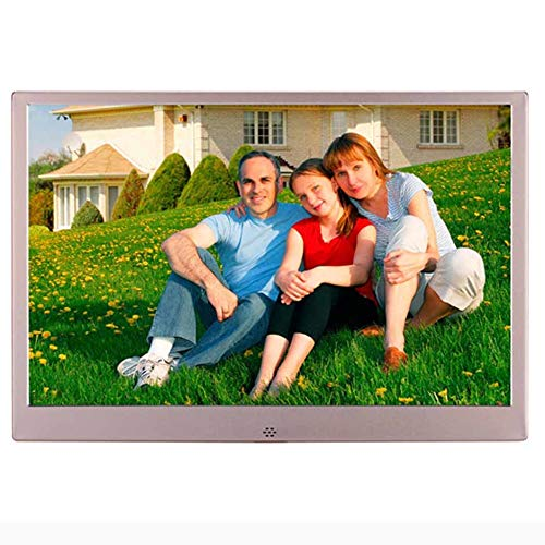 TLgf 13.3 Inch Digital Picture Frame, Electronic Photo Frame USB SD/SDHC. Digitaler Bilderrahmen mit Motion Sensor. Fernbedienung inklusive