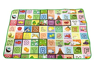 Baby Crawling EVA Soft Foam Floor Play Mat 1.8M X 1.2M Soft EVA Waterproof Thermal Kids Play Carpet Playmat UK Stock