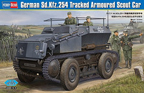 Hobby Boss 82491 Modellbausatz German Sd.Kfz.254 Tracked Armoured car