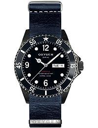 University Sports Press EX-D-MBB-40-NL-NA - Reloj de cuarzo unisex, correa de cuero color azul