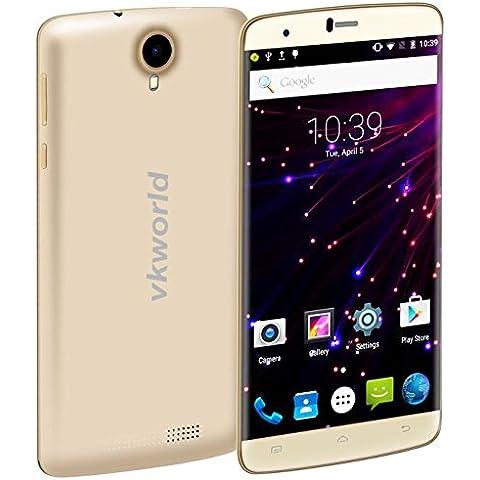 VKworld T6 6.0 pulgadas Android 5.1 Smartphone MT6735 Quad Core de 64 bits de 1,0 GHz 2 GB de RAM 16 GB de ROM GSM y WCDMA y FDD-LTE