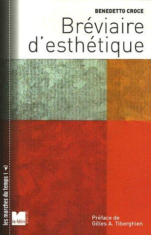 Bréviaire d'esthétique par Benedetto Croce
