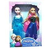 #1: Frozen Doll Sister Anna & Elsa - Original FROZEN BRAND doll
