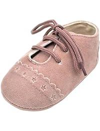 Zapatos De Bebé, Amlaiworld primeros pasos para niño niña zapatillas de bebé antideslizante de encaje hasta zapatos 0-18 Mes