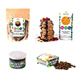 """Mongrillon - Pack""""Cricket Boss"""" - 4 produits à base d'insectes comestibles - naturellement riche en fibres, protéines et vitamine B12"""