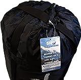 YOUR Schlafsack von SHO - Ultimativer 3 bis 4 Jahreszeiten Schlafsack - Extreme Temperatur -24.8°C getestet nach EN13537:2012 Vorschriften - Lebenslange Garantie -