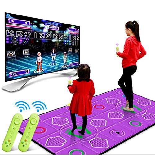 Tappeto GJM Shop Area Doppio Multifunzione Danza Gyro Senso del Corpo  Macchina da Ballo Domestica Superficie 368e0d674d0