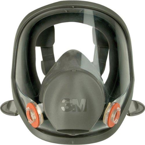 Preisvergleich Produktbild Atemschutzmaske 3M Silikon-Vollmaske, nach EN 136 ,kratzfest, Klasse 1 Maske