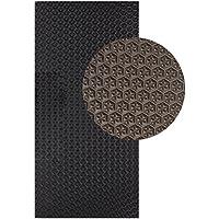 Langlauf Sohlengummiplatte 250mm x 500mm 4mm stark Profil Star in verschiedenen Farben zur Anfertigung von Schuhsohlen oder als Anti Rutsch Belag - 4 mm Stärke Schuhbedarf
