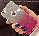 Best Apple iPhone 6 Plus Cases - LOXXO Gradient Glitter Skin Soft Silicone Slim Back Review