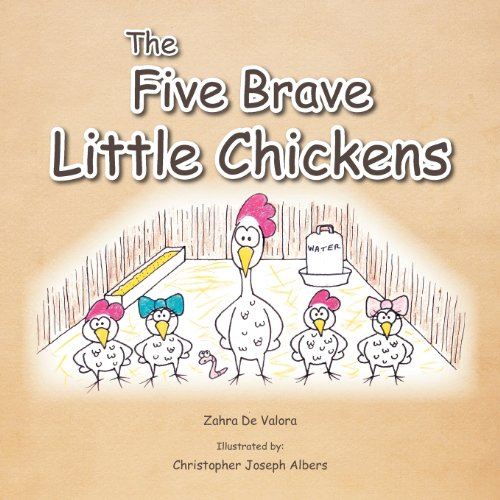 The Five Brave Little Chickens Cover Image
