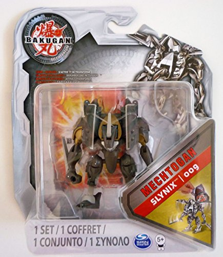 Bakugan - Mechtanium Surge - Swipe and Battle - Mechtogan - Grey - Slynix - 009 - Auto Transforms!